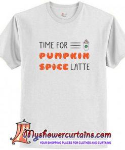 Spice Pumpkin Spice Latte T Shirt (AT)