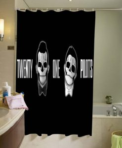 21 pilots Shower Curtain (AT)
