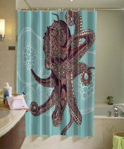 Amazing Octopus Shower Curtain(AT)