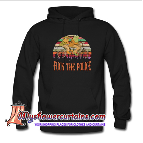 Frog And Toad Fuck The Police Unisex Hoodie (AT)