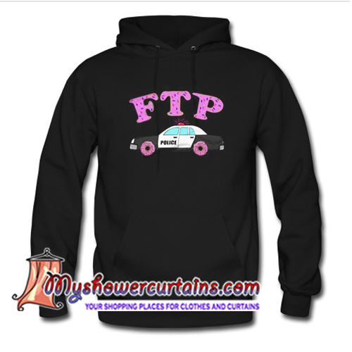 Fuck The Police Sprinkled Donut FTP Version Hoodie (AT)