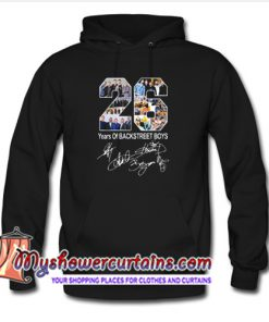 26 Years of Backstreet Boys All Signatures Hoodie (AT)