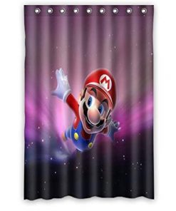 Aloundi Custom Super Mario Shower Curtain (AT)