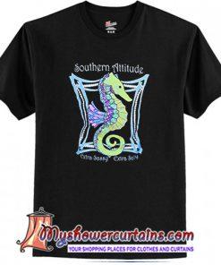 Southern Attitude Seahorse Back T-Shirt (AT)