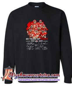 60 Years of Chiefs Signatures Sweatshirt (AT)