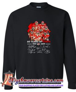 60 Years of Chiefs Signatures Sweatshirt (AT)