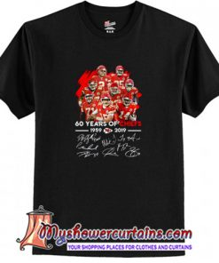 60 Years of Chiefs Signatures T-Shirt (AT)