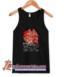 60 Years of Chiefs Signatures Tank Top (AT)