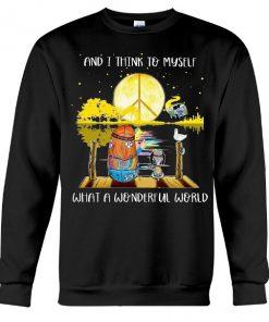 AND I THINK TO MYSELF Sweatshirt (AT)