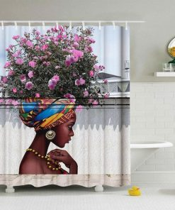 African American-Shower Curtains (AT)