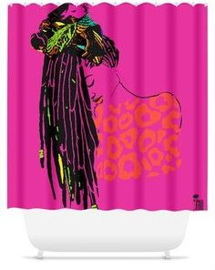 African American Shower Curtains (AT)