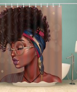 Afro Afrocentric Shower Curtains(AT)