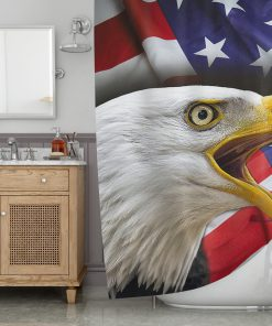 American Eagle Shower Curtain (AT)