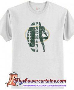 Green Bay Packers football T-Shirt (AT)
