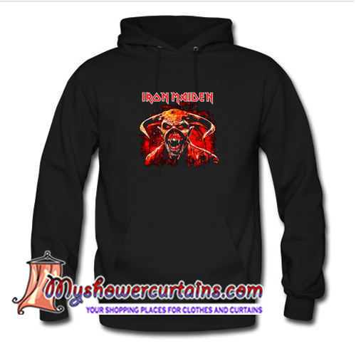 Iron Maiden Legacy Of The Beast 2019 Tour Hoodie (AT)