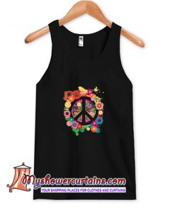 Peace Sign Colorful Tank Top (AT)