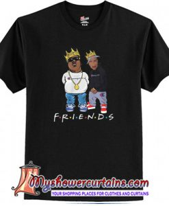 The Notorious BIG and Tupac friends T-Shirt (AT)
