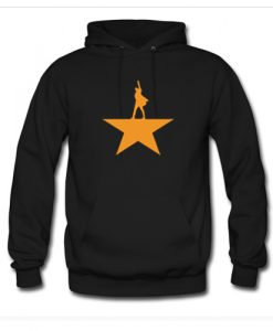 Hamilton Gold Star Logo Broadway Musical Hoodie (AT)