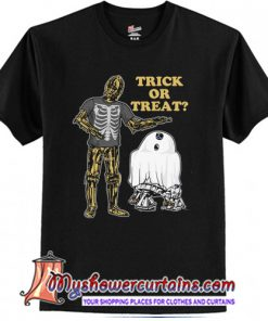 Star Wars Halloween Droids Trick or Treat Girls T-Shirt (AT)