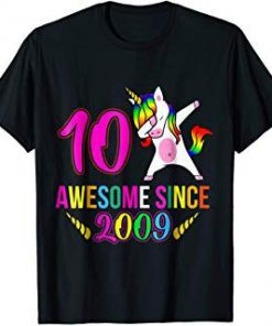 10th Birthday T-Shirt SN
