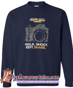 2019 Worldwide Photowalk Sweatshirt SN