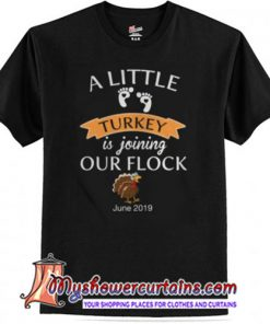 A Little Turkey Is Joining Our Flock June 2019 Shirt SN