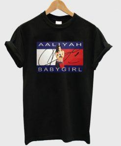 Aaliyah Babygirl Tshirt SN