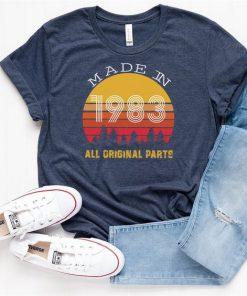 All Original Parts Vintae T-Shirt SN