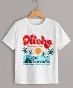 Aloha Tropical T-Shirt SN