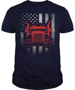 American Trucker T Shirt SN