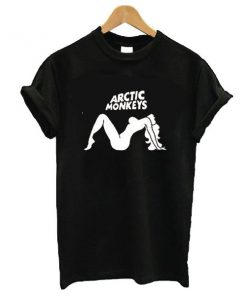 Arctic Monkeys logo t shirt RF02