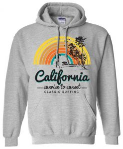 California Classic Sunrise Surfing Hoodie SN