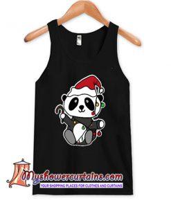 Panda Christmas lightsets TANK TOP SN