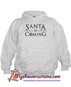 Santa Is Coming Kids Hoodie SN