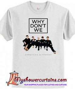 Something Different Tour Why Don't We Raglan T-Shirt SN