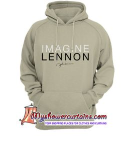 Imagine Signature John Lennon Hoodie SN