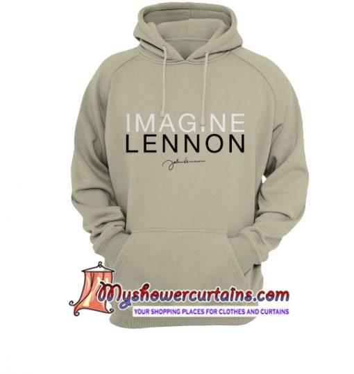 Imagine Signature John Lennon Hoodie SN