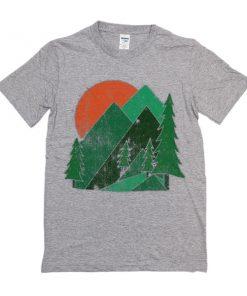 About Mountain t shirt RF02