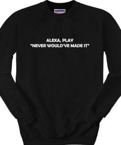 Alexa sweatshirt RF02