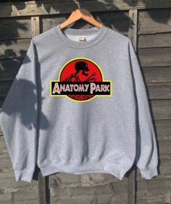 Anatomy Park Jurassic inspired spoof adults unisex sweatshirt RF02
