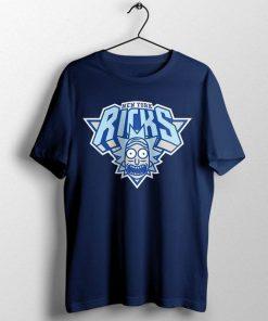 New York Ricks Basketball NY NYC Rick Morty t shirt RF02