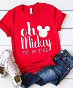 Oh Mickey t shirt RF02