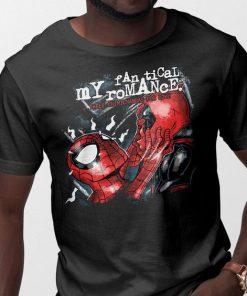 Spiderman Deadpool My Fanatical Romance t shirt RF02