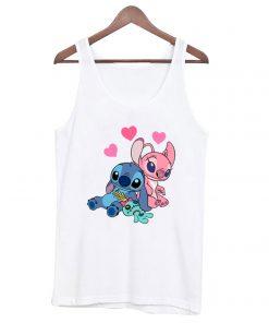 Stitch Lilo And Stich Love Cute Tank-top RF02