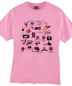 ABC's of astronomy t shirt RF02