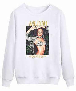 Aaliyah Tour 1995 sweatshirt RF02