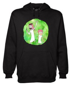 Arabian Rick and Morty hoodie RF02