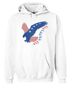 Eagle usa fly pappy flay american flag hoodie RF02