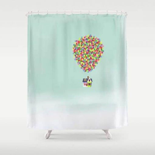Up Shower Curtain RF02