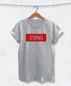 1986 Printed t shirt RF02